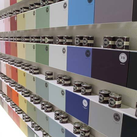 Farrow and Ball verfpresentatie bij Tisaco Nuth