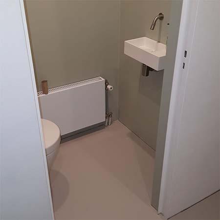 Wonderbaarlijk Tisaco | Toilet renovatie CS-73